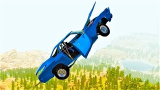 Опасное вождение! МНОГО АВАРИЙ! КРУТЫЕ МОМЕНТЫ в BeamNG Drive! Игра про машинки!