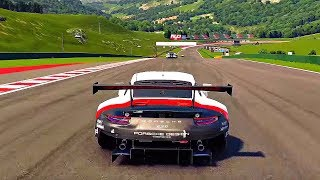 Gran Turismo Sport - Gameplay Endurance Race Porsche 911 RSR @ Lago Maggiore [1080p 60fps] PS4 PRO