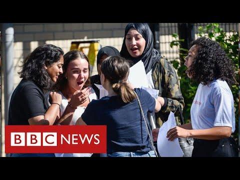 "Row over ""unfair"" school exam results brewing across UK- BBC News"