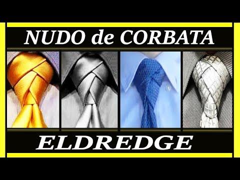 ELDREDGE:  Cómo hacer el nudo de corbata Eldredge.  How to Tie a Necktie Eldredge Knot