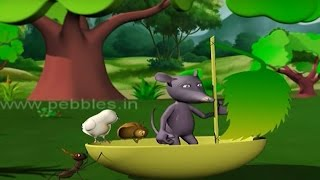 Panchatantra 3D Stories Collection  In Tamil | Educational Stories | Cartoon Stories For Kids