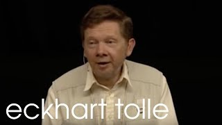 """Eckhart Tolle on """"The Pain Body"""""""