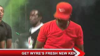 Wyre performs 'Bless my Room' and 'Kenyan Gal, Kenyan Boy' at Safaricom KENYA LIVE Meru Concert