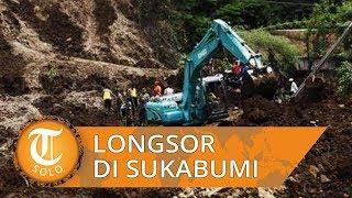 Satu Keluarga Tertimbun Longsor di Sukabumi, Satu Korban Meninggal Dunia