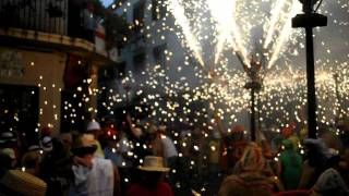 preview picture of video 'el Cable: Diables Sitges Colla Vella, 23-9-2011'