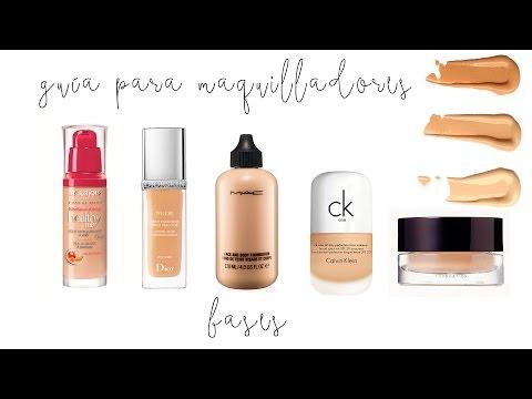 Guía para maquilladores / Las mejores bases de maquillaje