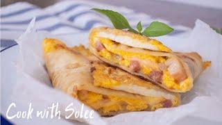 蛋餅|早餐食譜 | Tortilla Wrap | Quick and Easy Breakfast Ideas