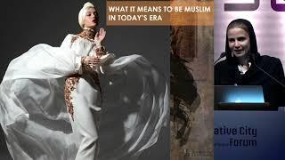 "Keynote ""The Evolution Of Islamic Fashion In Current Affairs"" / Alia Khan"