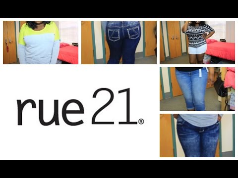 Rue 21 PLUS SIZE Try On Haul + REVIEW!!!