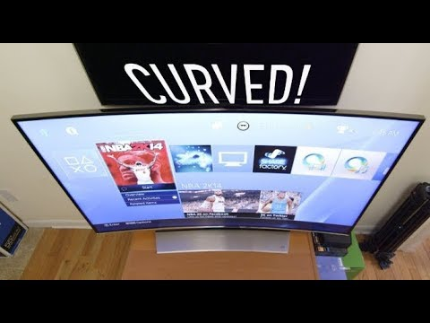 Curved TVs Explained! Is the Curve worth it?