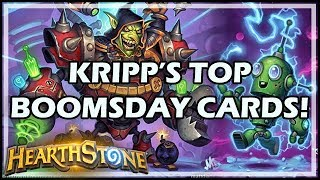 KRIPP'S TOP BOOMSDAY CARDS! - Boomsday / Hearthstone