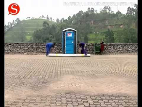 Schönes Geschlecht auf Toilette