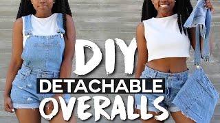 DIY Detachable Overalls/Dungarees