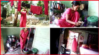 INDIAN HOUSEWIFE DAILY MORNING CLEANING ROUTINE2020/Thursday Blog /Simple Veg Lunch Recipe.