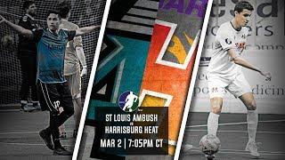 St Louis Ambush vs Harrisburg Heat