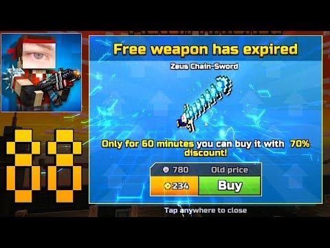 Pixel Gun 3D - Gameplay Walkthrough Part 88 - Zeus Chain Sword