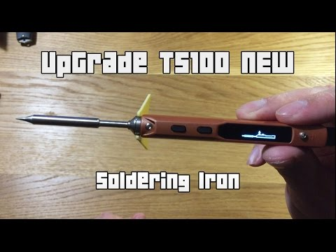 Unboxing: UpGrade TS100 Digital OLED Programable Interface DC5525 Soldering Iron Station