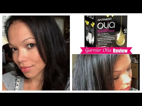 Garnier Olia hair color review  {vlog #154}