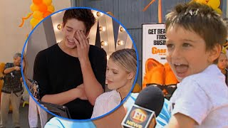 Watch Milo Manheim Freak Out Over His First ET Interview  When He Was 3! (Exclusive)