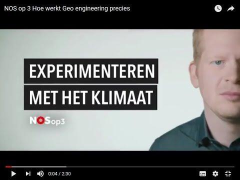 Hoe werkt Geo engineering precies