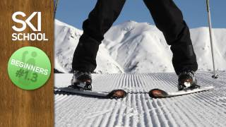 Ski school lesson 3 – The snow plough