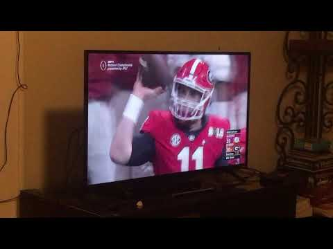 Reaction to National Championship Overtime