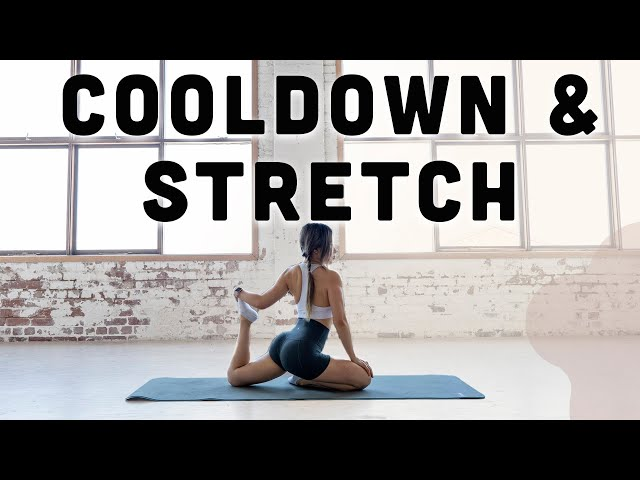 10 min Full Body Cool Down Stretches for Recovery & Flexibility