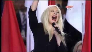 Christina Aguilera Screws Up the U.S National Anthem At Superbowl XLV !!!! HD High Quality !!!!