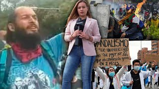 Periodista Colombiana manda mensaje al mundo