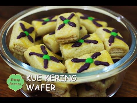 Video Resep Kue Kering Wafer - Biskut Lebaran