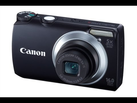 Canon Powershot A2200  review 720P