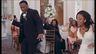 Epic Father Daughter Wedding Dance!!! Wait For It ….| Flash Mob With Bridal Party