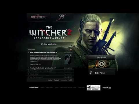 Реклама нового официального сайта Ведьмака 2