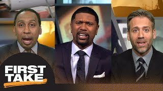 Stephen A., Jalen Rose and Max debate where Paul George will play next season | First Take | ESPN