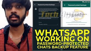 WhatsApp working on password-protected chats backup feature | TECHBYTES