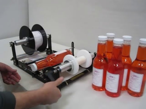 RL-RZ Bottle labeler sold by Race Label