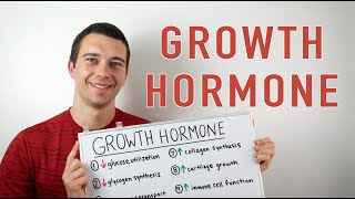 Growth Hormone Explained! 10 Functions of Human Growth Hormone in the body.