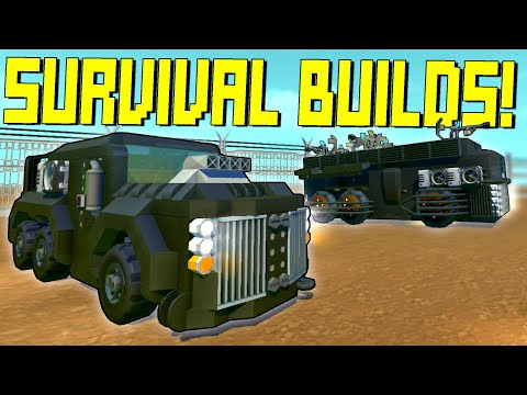 """We Searched """"Survival"""" on the Workshop to Prepare for the Update!  - Scrap Mechanic Workshop Hunters"""