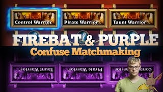 Firebat and Purple Confuse the Matchmaking System