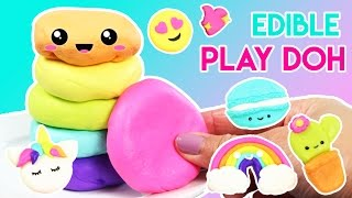 How to Make EDIBLE Play Doh with Marshmallows!