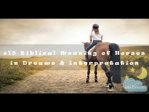 #58 Biblical Meaning of Horses in Dreams and Interpretation