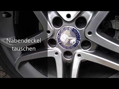 Mercedes Nabendeckel tauschen mit der Saugnapfmethode