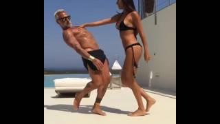 Итальянец 50 летний миллионер Джанлука Вакки взорвал интернет своим танцем