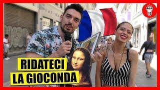A 100'000 LIKE NUOVO VIDEO! Dopo il video in Francia a tema bidet, in tantissimi ci avete chiesto di riportare la Gioconda in Italia. Così abbiamo fatto la cosa più logica, stamparne una copia... e andare in Francia a chiederlo direttamente ai francesi!  Francesi e Bidet: https://youtu.be/G893VbsrMns  Iscriviti al secondo canale: https://www.youtube.com/channel/UCrBTsd15VzG3FI-oT-WCyUQ  SEGUITECI SU:  Youtube: http://www.youtube.com/theshowisyou  Facebook: http://www.facebook.com/theshowisyou Twitter: http://www.twitter.com/theshowisyou Instagram: http://www.instagram.com/theshowisyou