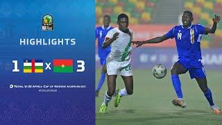 CAN U20 2021 | Groupe B : République centrafricaine 1-3 Burkina Faso