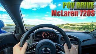 2018 McLaren 720S German Autobahn POV DAY Drive ///Lets Drive///