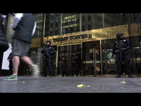 Video Tourists react to new NY attraction: Trump Tower