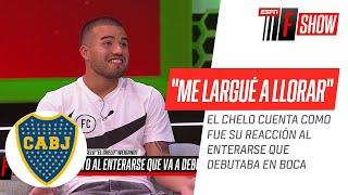 Marcelo #Weigandt contó como fue el momento en el que se entera que iba a debutar en #Boca