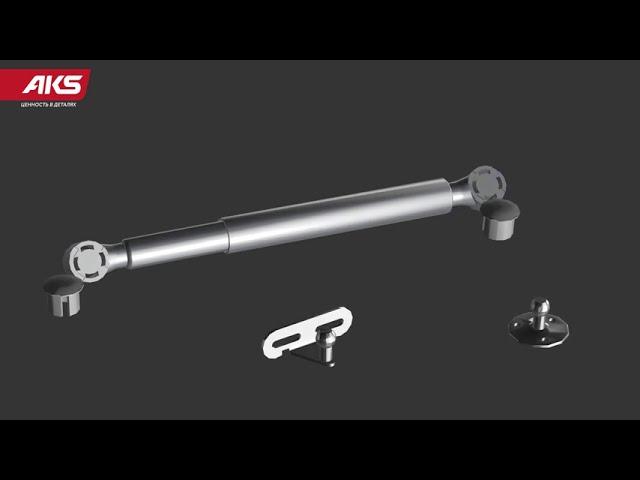 Подъемник газовый с фиксацией в любом положении: инструкция по установке
