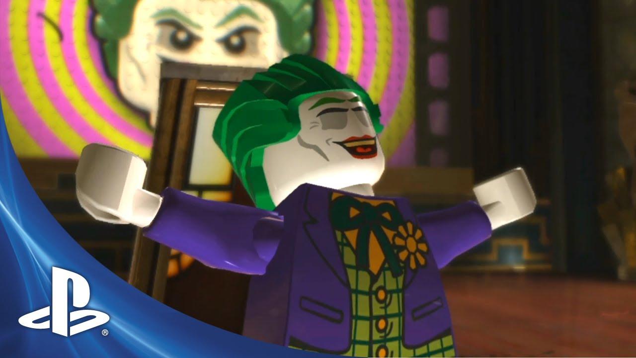 Lego Batman 2: DC Superheroes Assembles for PS Vita, PS3 today
